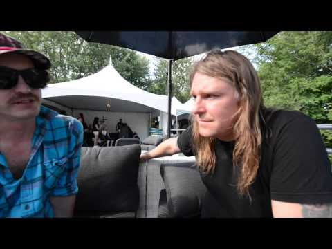 Interview with Nick Sewell and Andrew Scott of Biblical - Heavy Montréal - August 9th, 2014