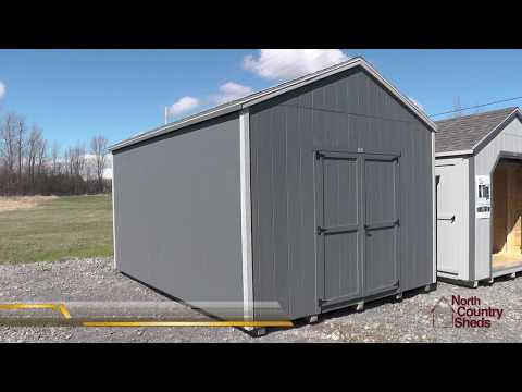 12' X 16' Garden Sheds | Storage Sheds | Prefab Wood Shed | Ottawa Sheds