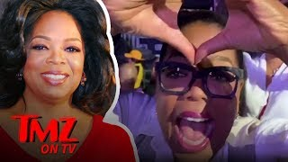 Oprah Turns Up At Beyonce & Jay-Z Concert | TMZ TV