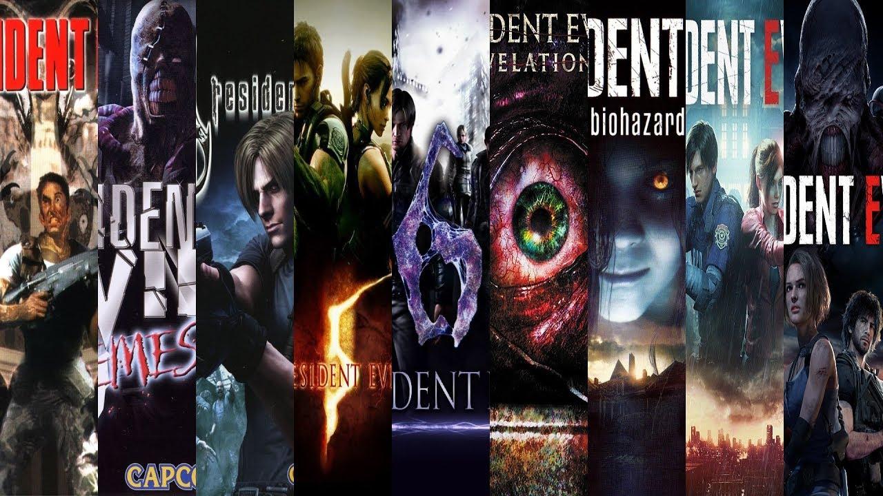 Download The Evolution of Resident Evil (1996-2020)