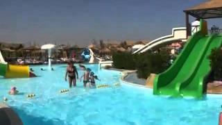 Аквапарк(Это аквапарк в отеле Альбатрос Джангл. Египет, Хургада. февраль 2011г., 2011-02-18T14:58:27.000Z)