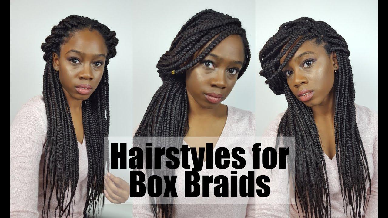 6 Easy & Cute Hairstyles for Box Braids