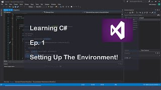 Learning C# Programming Episode 1: Our First Program!