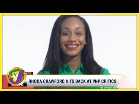 Rhoda Crawford Hits Back at PNP Critics | TVJ News - July 26 2021