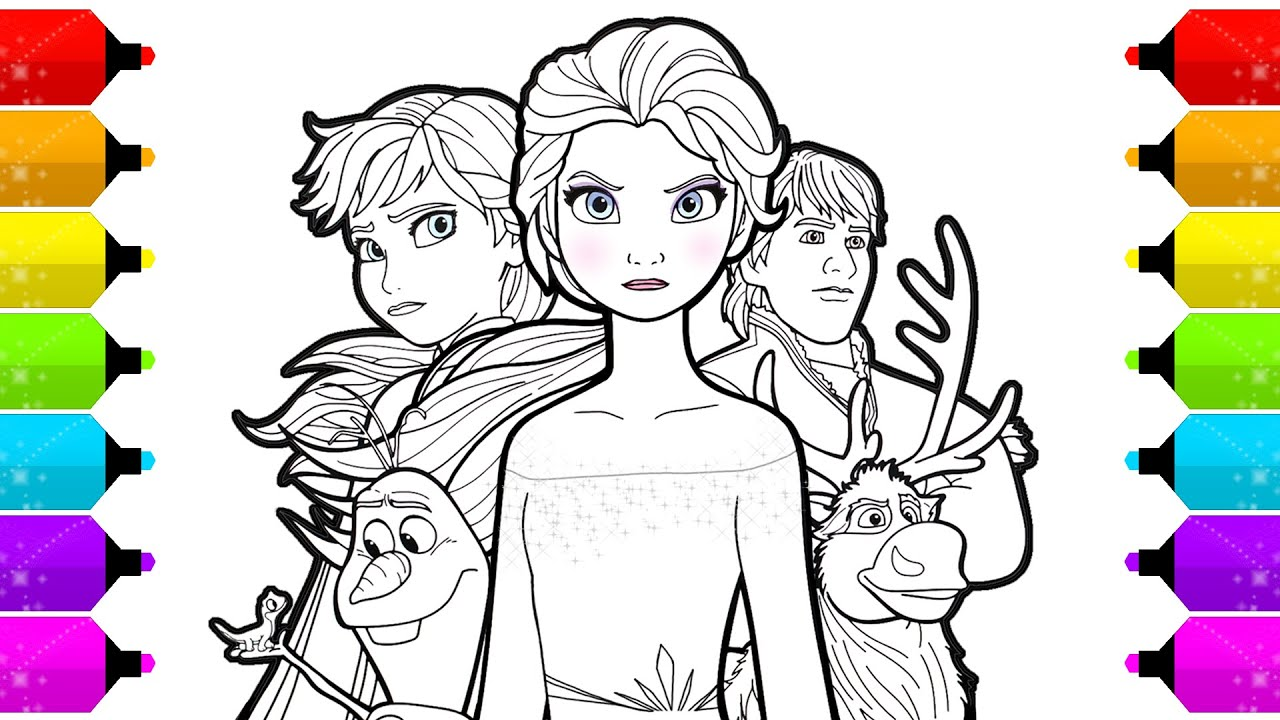 Anna And Elsa Coloring Pages Frozen Pictures Hd New Fresh Of Free ... | 720x1280