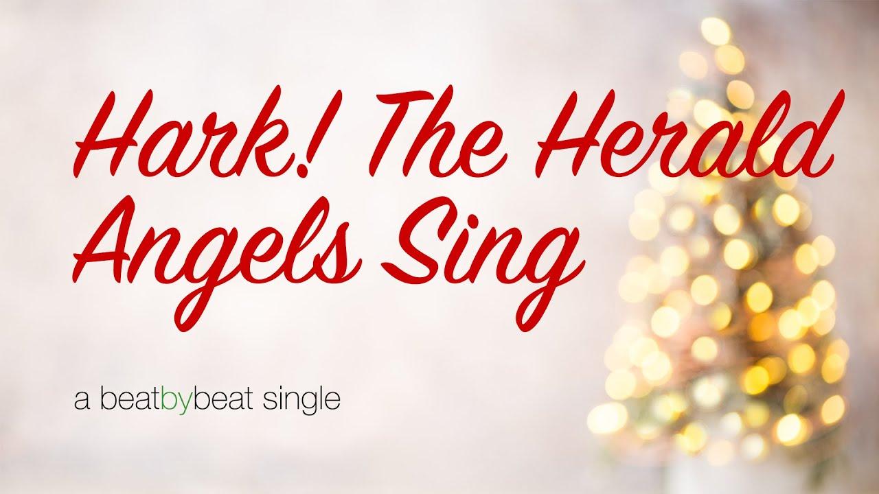 Hark the Herald Angels Sing - Karaoke Christmas Song - YouTube