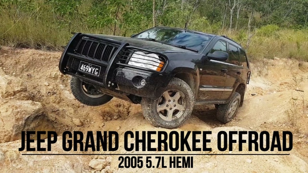 2005 Jeep Grand Cherokee Hemi Offroad Youtube