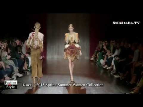 """Italian Fashion"" - ""Gucci"" 2015 Spring Summer Women - ""Milan Fashion Week"" - Milano Moda Donna"