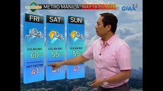 UB: Weather update as of 6:05 a.m. (May 18, 2018)