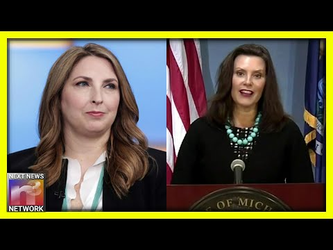 Ronna McDaniel Just Put Michigan Gov. Whitmer in her PLACE after Blaming Trump for Kidnapping Plot