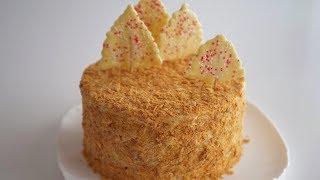 Торт Хрустящий Наполеон Традиционный семейный рецепт для новогоднего стола
