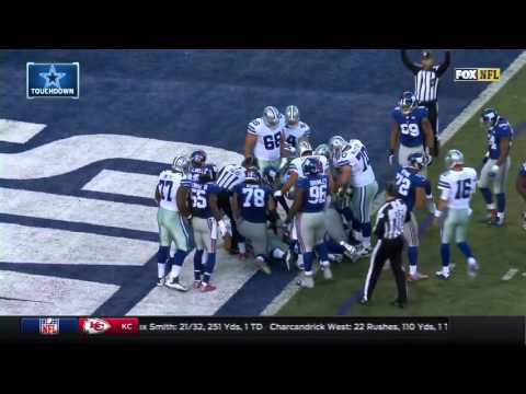 Every Touchdown of the 2015 Dallas Cowboys season.