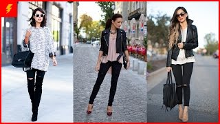 How to Wear Black Jeans to Look Trendy