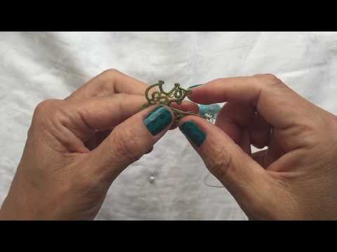 Tatting - Maple Leaf (Part 3)