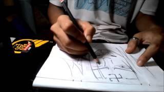 Drawing Hyuga Neji - Naruto Shippuden   LearnToDraw