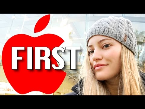 Thumbnail: FIRST IN LINE FOR RED iPHONE!