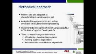 GEOBIA2012 - Towards adaptive image processing - Automated extraction of railroad tracks from...