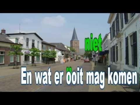 Volkslied Hengelo gld karaoke met melodielijn 16:9