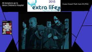 Extra Life 2015: Part 15A - Grand Theft Auto III