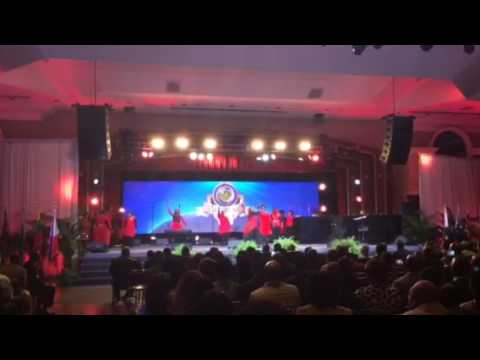 Global United Dancers You are welcome by Psalmist Raine