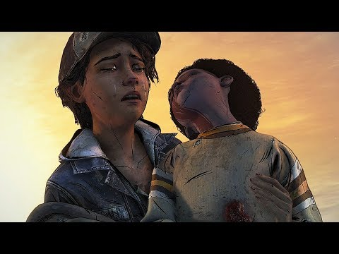 This is so sad even doe it ain't real - The Walking Dead The Final Season Model Swap Fanmade Ending |
