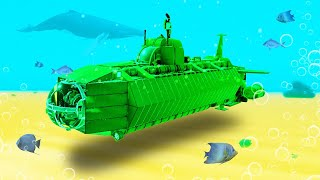BUILD THE BIGGEST SUBMARINE CHALLENGE! (Trailmakers)
