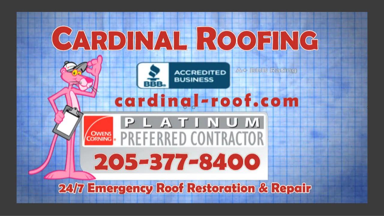 Cardinal Roofing Contractors Birmingham AL   Roofing Repairs Birmingham