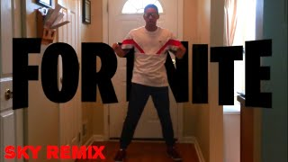 Sky - Fortnite Theme Song Remix (Season 5 Dance Video Freestyle) | CamTheCoolness