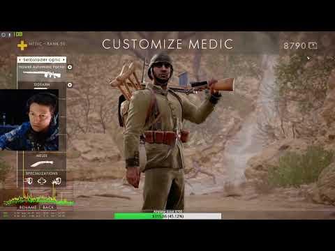Battlefield 1 - 67 kills - Howell automatic factory - Achi Baba