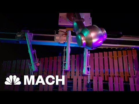 Robot 'Shimon' Can Compose Its Own Music | Mach | NBC News
