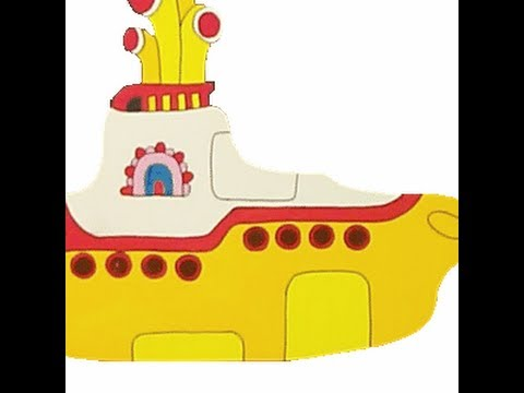 Yellow Submarine Cartoon