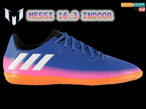Déballage Chaussures Football Adidas Messi 16.3 Indoor Futsal Boots ⚽