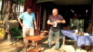 Uhw Tips & Tricks - Webisode 2 - How To Restore & Refinish An Antique Table Top
