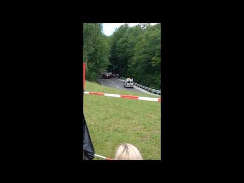 Nesreča voznika na GHD Gorjanci 2017/ DolenjskaNews