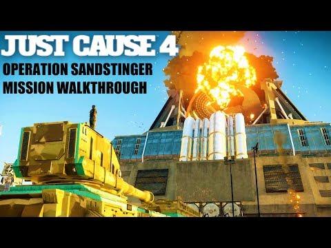 Operation Sandstinger Mission Walkthrough - JUST CAUSE 4