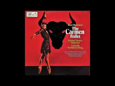 Rodion Shchedrin (after Bizet) : Carmen Suite, ballet for string orchestra and percussion (1967)