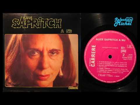 Alice SAPRITCH - à nu - ALBUM 1975