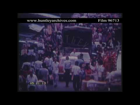 Singapore.  Street, 1982.  Archive film 96713