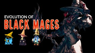 The Complete Evolution of Black Mages