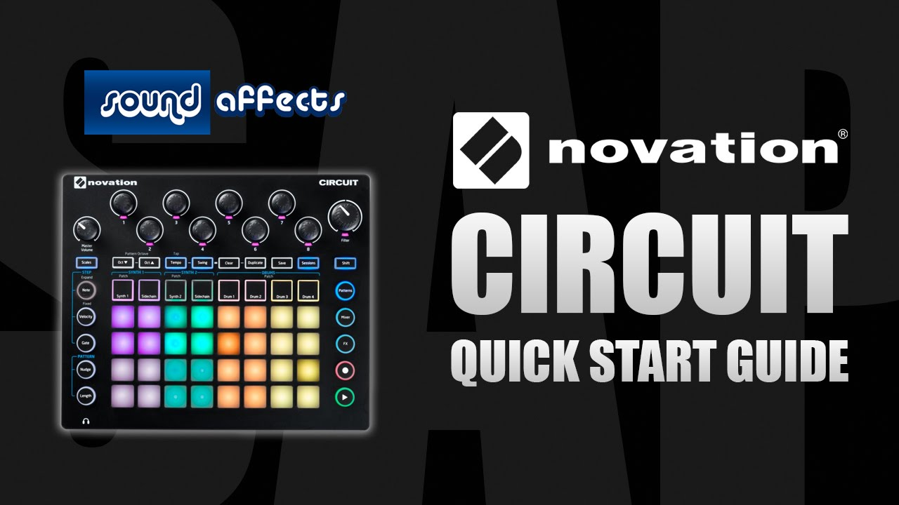 Novation Circuit - Quick Start Guide and Demo - YouTube