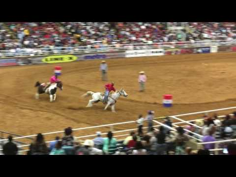 Mesquite Rodeo 2016 Pony Express 2nd Race