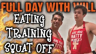 Eating & Training With Will Tennyson | Squat Challenge + HUGE Anabolic French Toast Breakfast