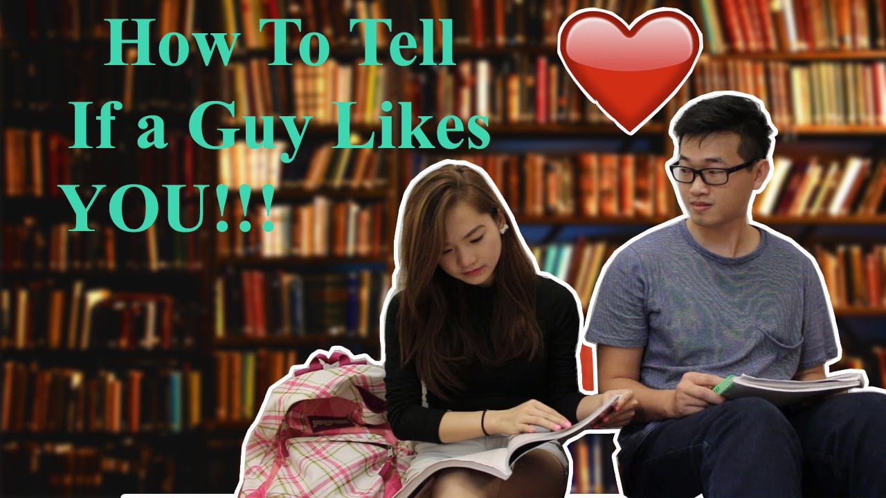 SIGNS A GUY IS INTERESTED IN YOU AT SCHOOL - YouTube