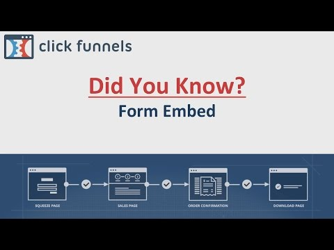 Did You Know - Form Embed Codes
