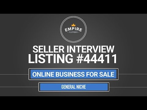 Online Business For Sale – $5.1K/month in the General Niche