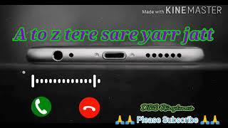A to z tere sare jatt ringtone #Letest_Panjabi_song #new_whatsApp_status    DBS Ringtones   