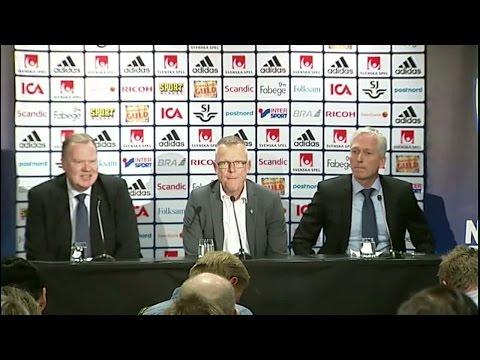 Hela presskonferensen med nya förbundskaptenen Janne Andersson - TV4 Sport