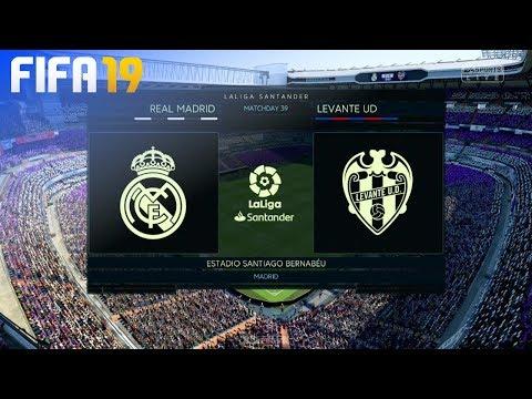 Fifa 19 Real Madrid Vs Levante Ud Estadio Santiago Bernabeu