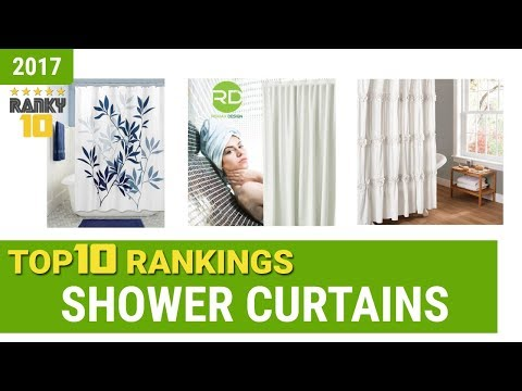 Shower Curtains Top 10 Rankings, Reviews 2017 & Buying Guides