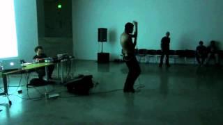 Kool Skull performing at UCLA Game Lab